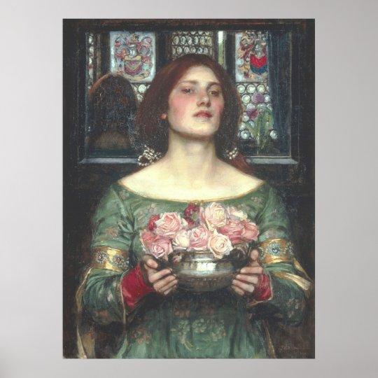 John W Waterhouse - Gather Ye Rosebuds (1908)