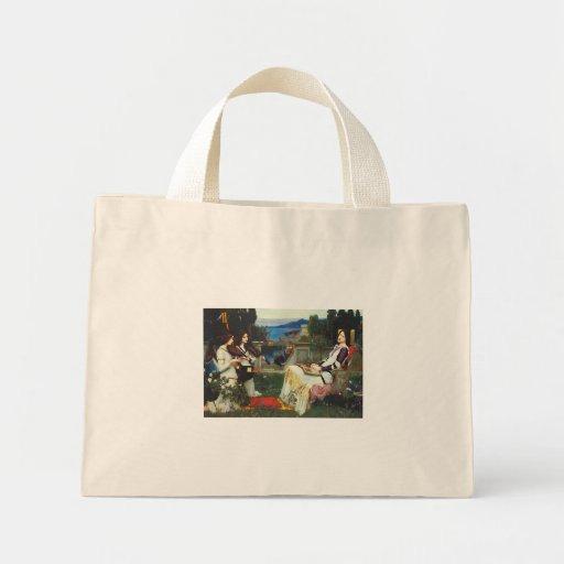 John W Waterhouse - Saint Cecilia (1895) Canvas Bags