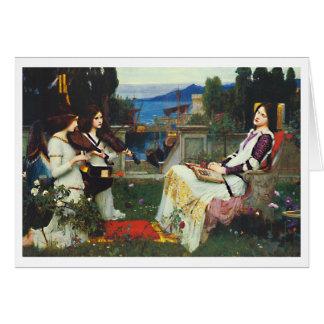 John W Waterhouse - Saint Cecilia (1895) Cards