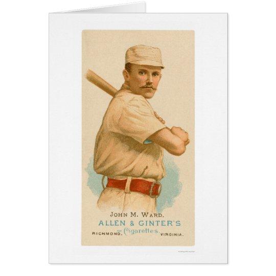 John Ward Baseball Card 1887