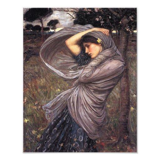 """John Waterhouse """"Boreas"""" 1902 Reproduction Print Art Photo"""