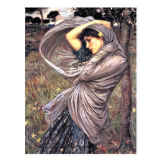 John Waterhouse - Boreas 1903 artwork Post Cards