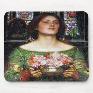 John Waterhouse - Gather Ye Rosebuds Mousepad