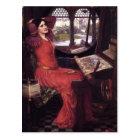John Waterhouse- Lady of Shalott Postcard
