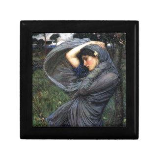 John Waterhouse Pre-Raphaelite Boreas Jewelry Boxes