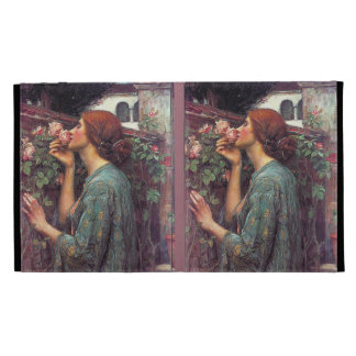 John Waterhouse Pre-Raphaelite Rose iPad Cover iPad Case