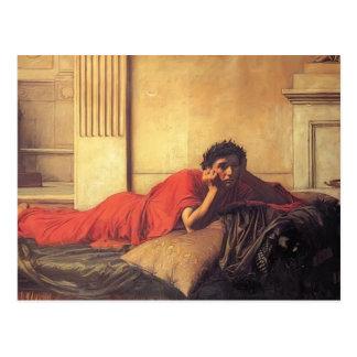 John Waterhouse- The Remorse of Nero Post Card