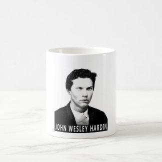 JOHN WESLEY HARDIN OUTLAW DRINKING UTENSIL COFFEE MUGS