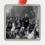 John Wesley preaching Christmas Ornament