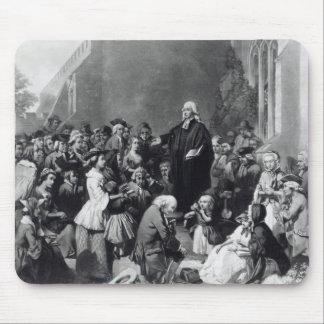 John Wesley preaching Mouse Mat