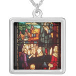 John Wesley  Preaching the Gospels in England Custom Necklace