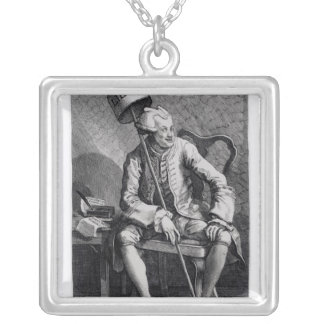 John Wilkes  1763 Silver Plated Necklace