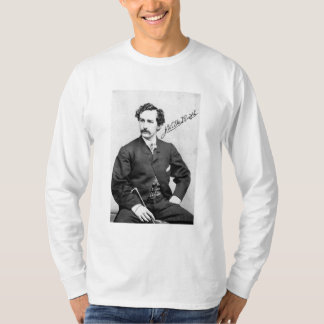 JOHN WILKES BOOTH AND SIGNATURE TEE