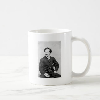 John Wilkes Booth ~ Assassin of President Lincoln Basic White Mug