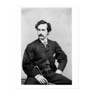 John Wilkes Booth ~ Assassin of President Lincoln Postcard