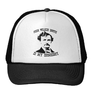 john wilkes booth is my homeboy mesh hats