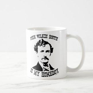 john wilkes booth is my homeboy coffee mugs