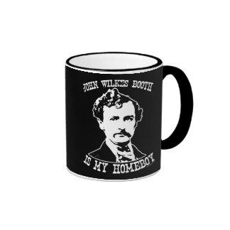 john wilkes booth is my homeboy ringer mug