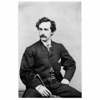 JOHN WILKES BOOTH PHOTO SCULPTURE