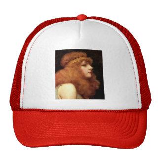 John William Godward- An Auburn Beauty Mesh Hat