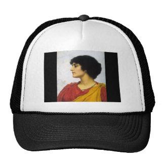 John William Godward- An Italian Girls Head Cap