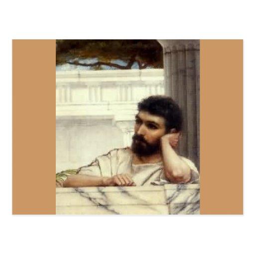 John William Godward Portrait Post Cards