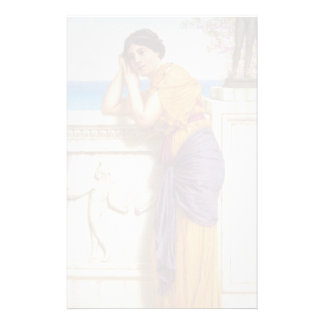 John William Godward- Rich Gifts Wax to Poor Customized Stationery