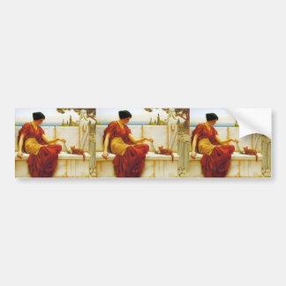 John William Godward- The Favourite Bumper Sticker