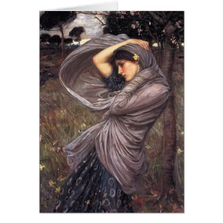 John William Waterhouse- Boreas Card