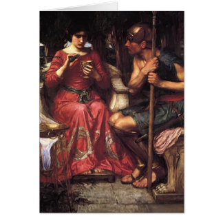 John William Waterhouse- Jason and Medea Greeting Card