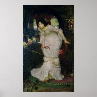 John William Waterhouse - Lady of Shallot Poster