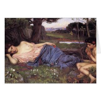 John William Waterhouse-Listen to my Sweet Pipings Cards