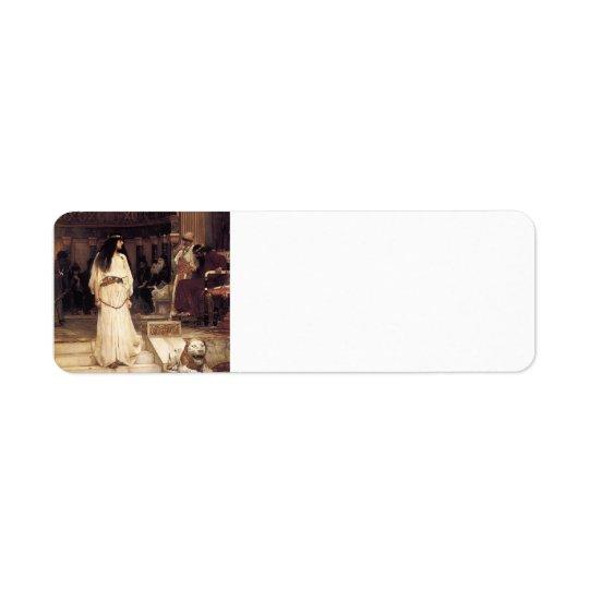 John William Waterhouse- Mariamne Leaving
