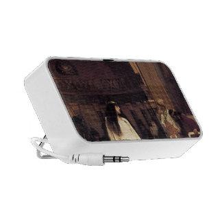 John William Waterhouse- Mariamne Leaving Portable Speaker