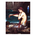 John William Waterhouse Mermaid Postcard