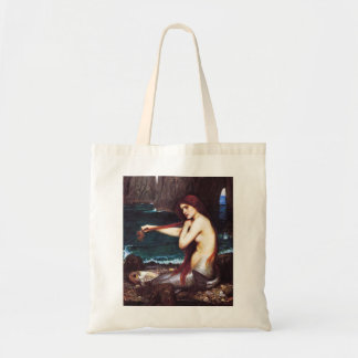 John William Waterhouse Mermaid Tote Bag