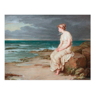 John William Waterhouse - Miranda Postcard