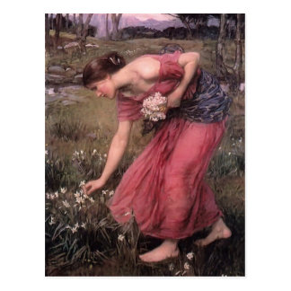 John William Waterhouse- Narcissus Postcards