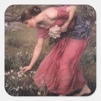 John William Waterhouse- Narcissus Stickers