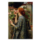 John William Waterhouse Soul of the Rose Poster