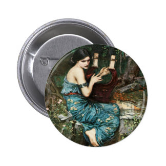 John William Waterhouse The Charmer Button