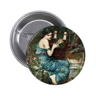 John William Waterhouse The Charmer Button