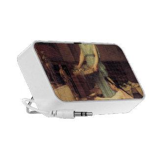 John William Waterhouse- The Household Gods Laptop Speakers