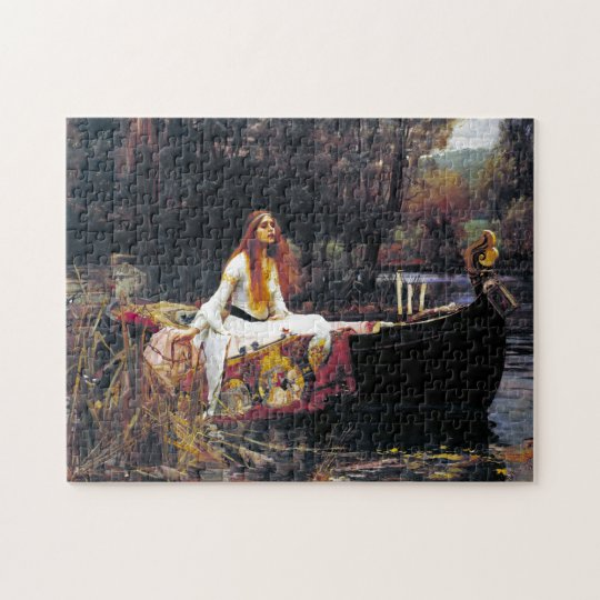 John William Waterhouse The Lady Of Shalott Jigsaw