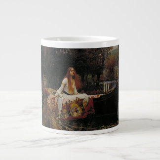 John William Waterhouse - The Lady of Shalott Large Coffee Mug