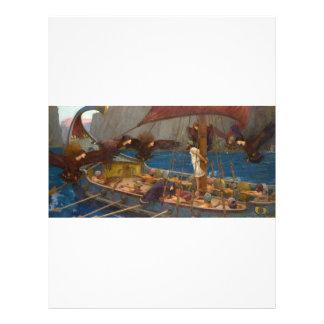 John William Waterhouse - Ulysses and the Sirens 21.5 Cm X 28 Cm Flyer