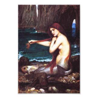 John William Waterhouse Vintage Mermaid Print Photo Print