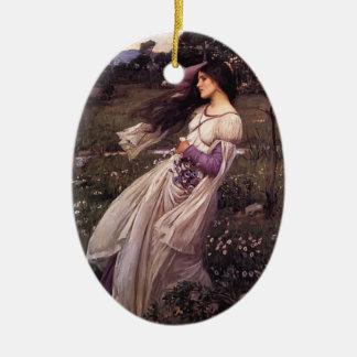 John William Waterhouse- Windflowers Christmas Ornament