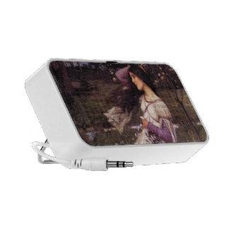 John William Waterhouse- Windflowers Laptop Speakers