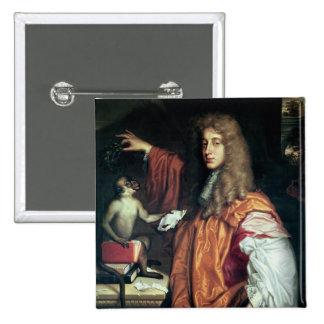 John Wilmot  2nd Earl of Rochester, c.1675 Button